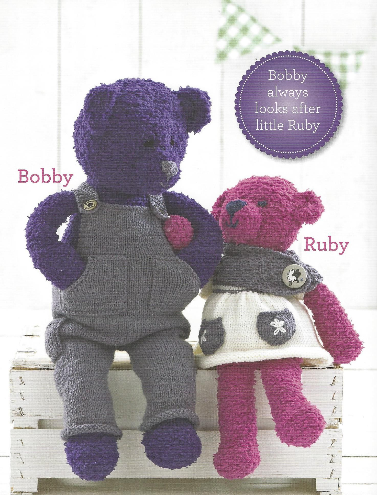 Sue Jobson Knitting Patterns : Sirdar book the bear snowflake chunky
